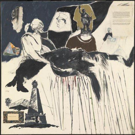 R.B. Kitaj The Murder of Rosa Luxemburg 1960