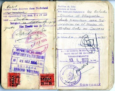 Wifredo Lam Passport 1952 4