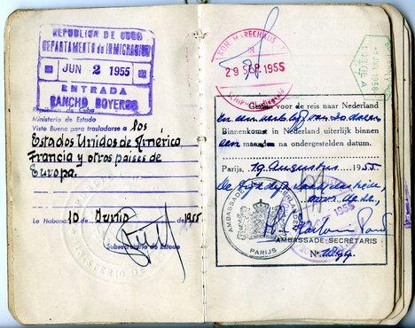 Wifredo Lam Passport 1952 5
