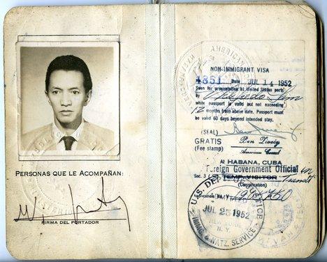 Wifredo Lam Passport 1952 2