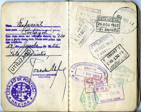 Wifredo Lam Passport 1952 3