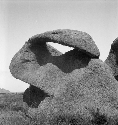 Eileen Agar Photograph of Le Lapin rock in Ploumanach