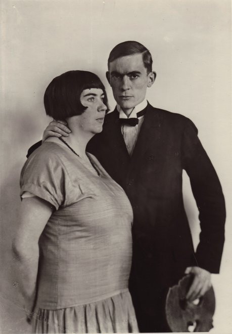 August Sander The Painter Anton Räderscheidt and his Wife Marta Hegemann c.1925