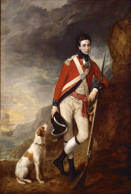 Thomas Gainsborough An Officer of the 4th Regiment of Foot 1776–80