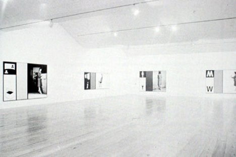 Victor Burgin Office at Night, 1986 Installed in Knight Gallery