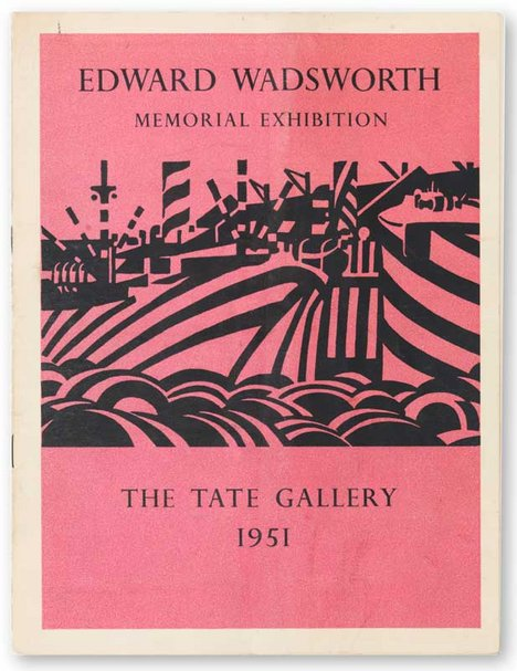 Catalogue accompanying a memorial exhibition of Edward Wadsworth's work in 1951, from Tate Publishing