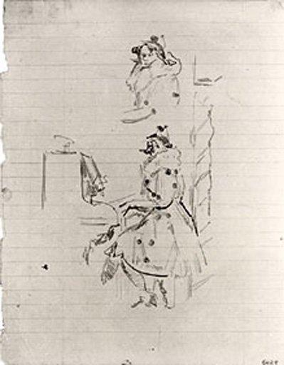 Walter Richard Sickert Sketch for 'Brighton Pierrots' 1915