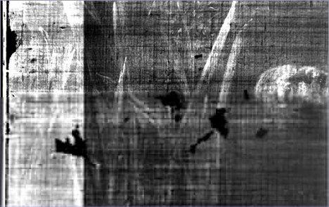 X-ray of Ophelia