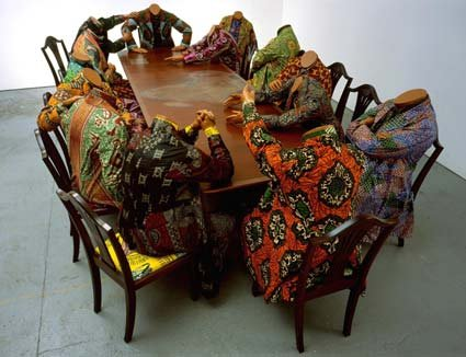 Yinka Shonibare Scramble for Africa  2003
