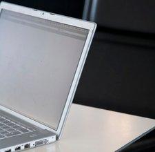 A laptop computer at Café 2, Tate Modern