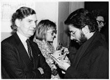 Alan Bowness and Waldemar Januszczak 1984