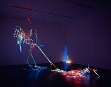 Anselm Reyle Untitled Installed at the Kunsthalle Zurich