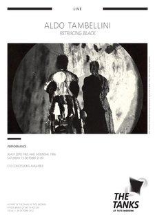Aldo Tambellini, Retracing Black 2012, programme notes p.1 of 3