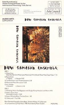 Audio Arts Bow Gamelan Ensemble Inlay 1