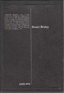 Audio Arts Stuart Brisley Georgiana Collection Inlay 1