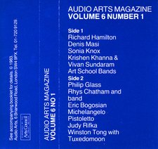 Audio Arts Volume 6 No 1 Inlay 1