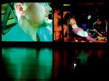 Baktruppen Homo Egg Egg as part of the Perfect Performance Festival, Kulturhuset, Stockholm 2003