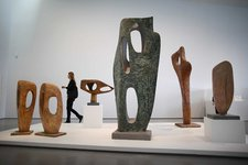 Barbara Hepworth Installation view, The Hepworth Wakefield five