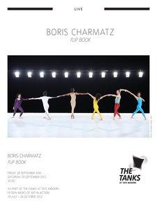 Boris Charmatz, Flip Book 2008, programme notes, p.1 of 2