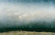 Caspar David Friedrich Monk by the Sea circa1809
