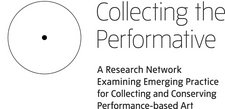 Logo for the Collecting the Performative project