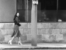 John Smith The Girl Chewing Gum 1976 (film still)