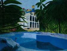 Dexter Dalwood Versailles in the Jungle 2003