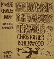 Dust jacket designed by John Banting for Christopher Isherwood's novel Mr Norris Changes Trains (1935)