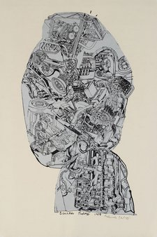 Eduardo Paolozzi Automobile Head 1954–62