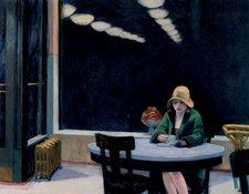 Edward Hopper Automat 1927
