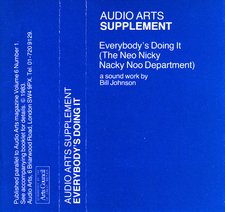 Audio Arts supplement Everybody's Doing It cassette inlay