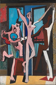 Pablo Picasso, The Three Dancers 1925