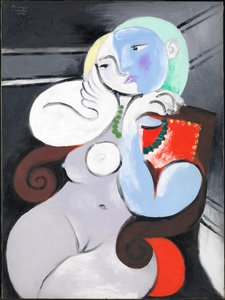 Pablo Picasso, Nude Woman in a Red Armchair 1932