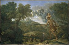 Nicolas Poussin Blind Orion in Search of the Rising Sun 1658