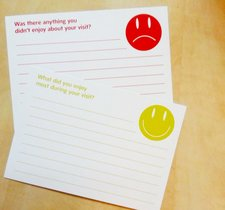 The 'Enjoyed' and 'Not Enjoyed' cards