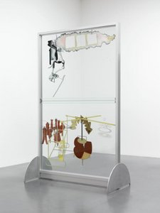 Marcel Duchamp, The Bride Stripped Bare by her Batchelors, Even (The Large Glass) 1915–23, reconstruction by Richard Hamilton 1965–6, lower panel remade 1985