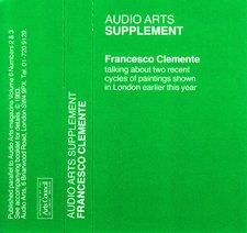 Audio Arts supplement Francesco Clemente inlay 1
