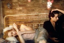 Nan Goldin, Greer and Robert on the Bed, NYC 1982