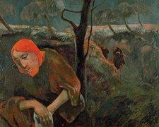 Paul Gauguin Christ in the Garden of Olives 1898