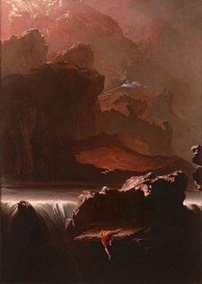 John Martin Sadak in Search of the Waters of Oblivion 1812