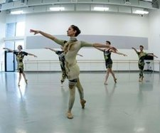 Linder ballet The Ultimate Form (rehearsal)