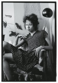 Nan Goldin Bea in her Chair, Boston 1972
