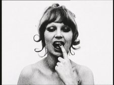 Natalia LL Consumer Art 1974 portrait of woman touching her teeth with her finger