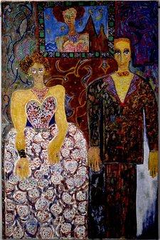 Niki de Saint Phalle Family Portrait 1954