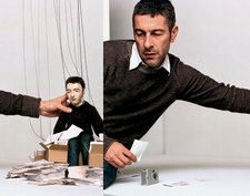 Pierre Huyghe This is not a time for dreaming 2004 Live puppet play and super 16 mm film, 24 minutes Film still