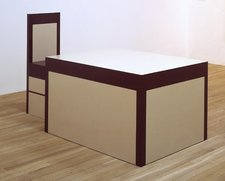 Richard Artschwager, Table and Chair 1963–4