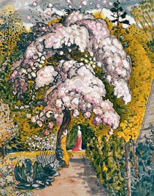 Samuel Palmer In a Shoreham Garden 1829 Watercolour