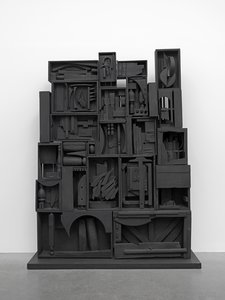 Louise Nevelson, Black Wall 1959