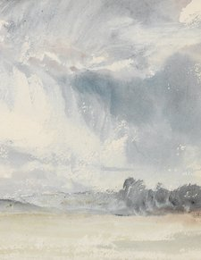 J.M.W. Turner, study from Skies Sketchbook, 1816–18 (detail)