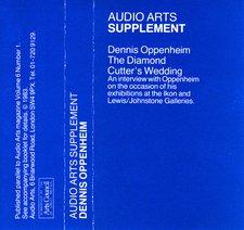 Audio Arts supplement Dennis Oppenheim, The Diamond Cutter's Wedding cassette inlay